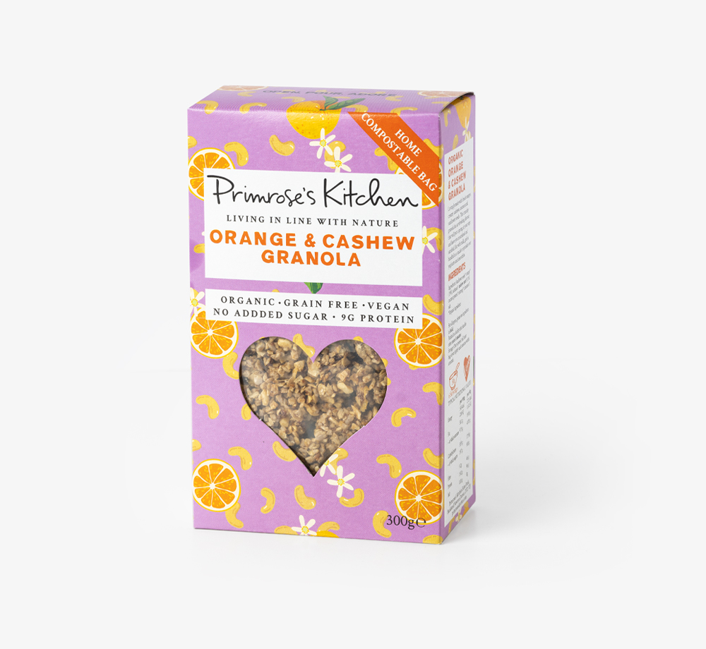 Orange and Cashew Granola by Primrose's Kitchen - Bookblock Shop Eat & Drink