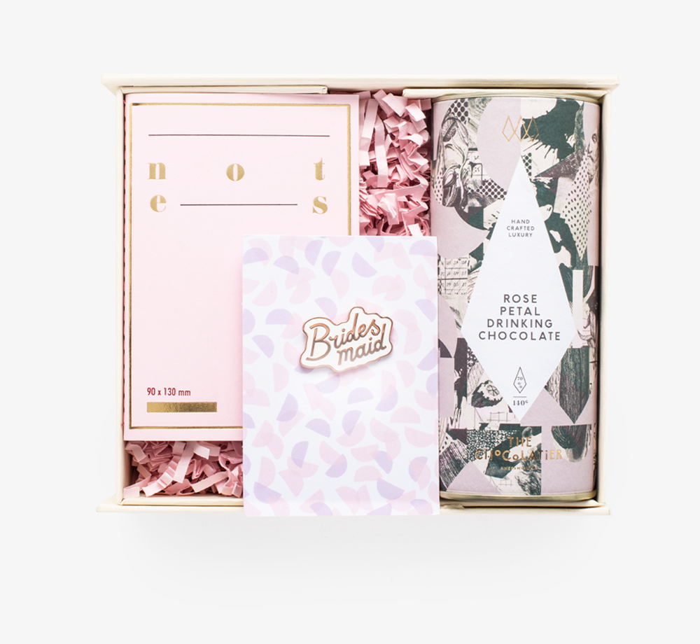 Roses Are Pink Gift Box by Bookblock - Bookblock Shop Gift Box
