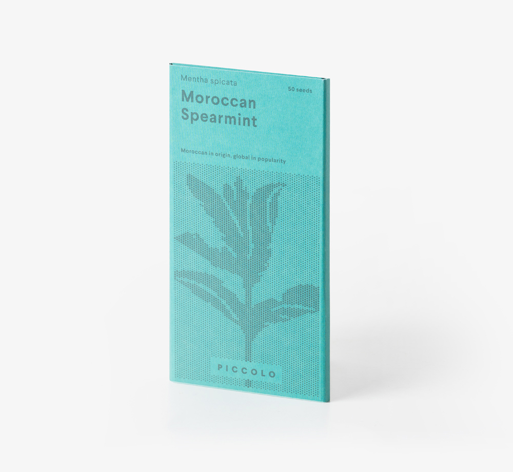Moroccan Spearmint Seeds by Piccolo SeedsLifestyle & Games  Bookblock