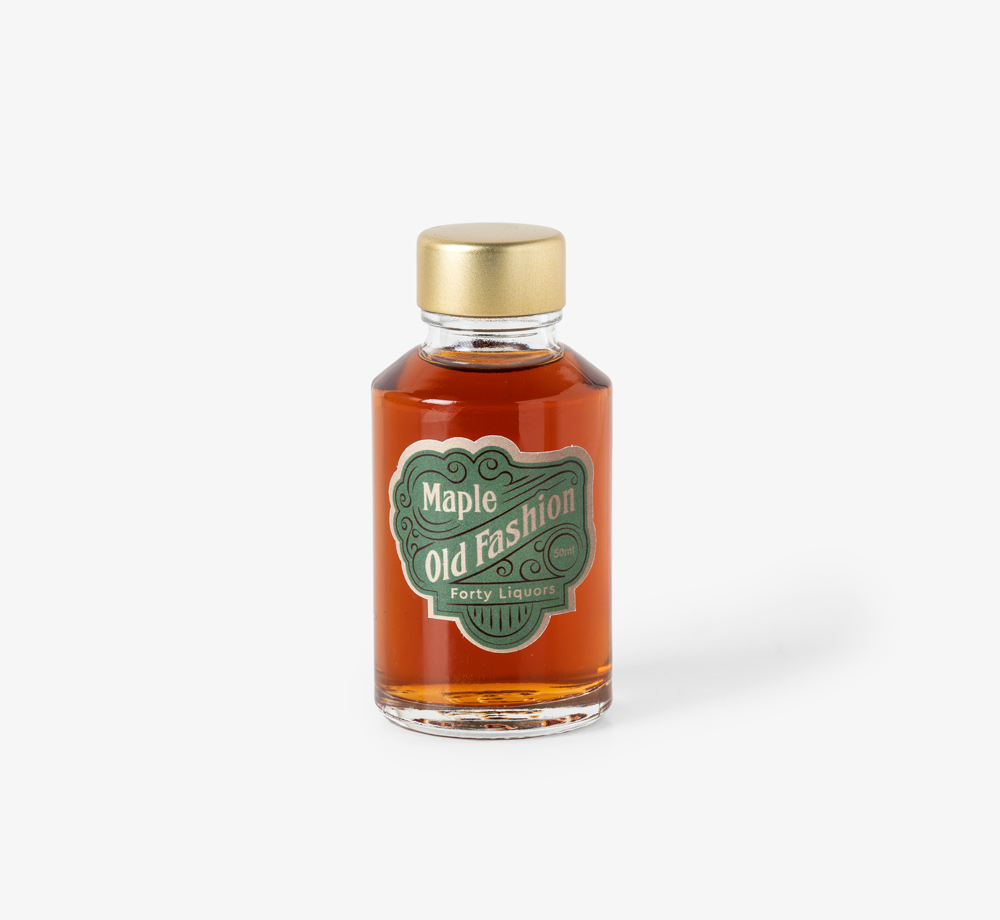 Maple Old Fashioned 50ml by Forty LiquorsEat & Drink| Bookblock
