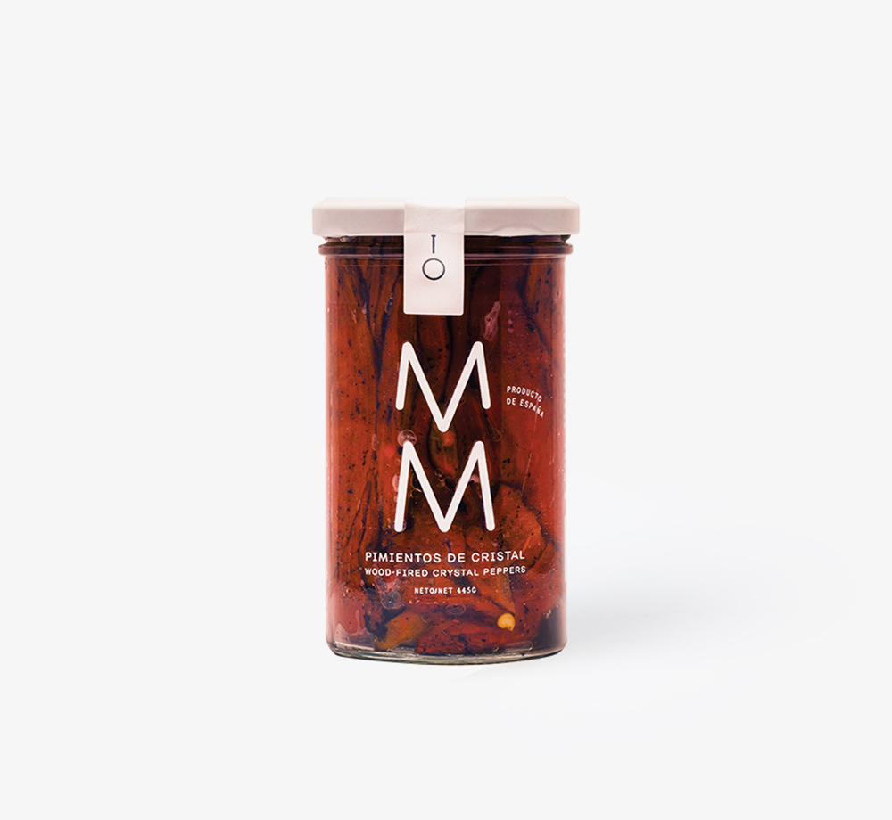 Wood-Fired Piquillo Peppers Jar 250g by MM Made with MimoEat & Drink| Bookblock