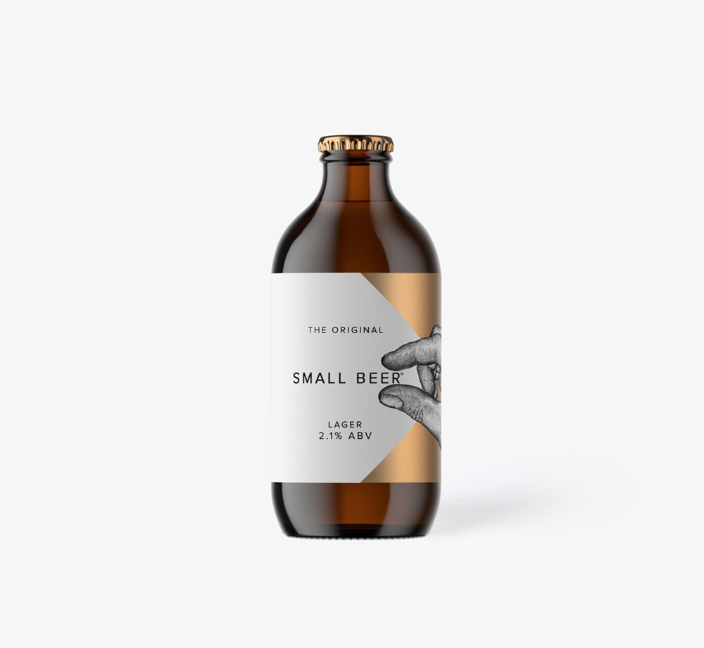 Original Small Beer Lager 35cl by Small Beer Brew CoEat & Drink  Bookblock