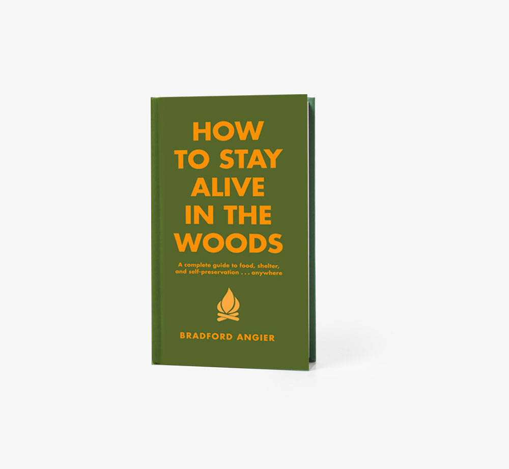 How to Stay Alive in the Woods by Bradford AngierBooks| Bookblock