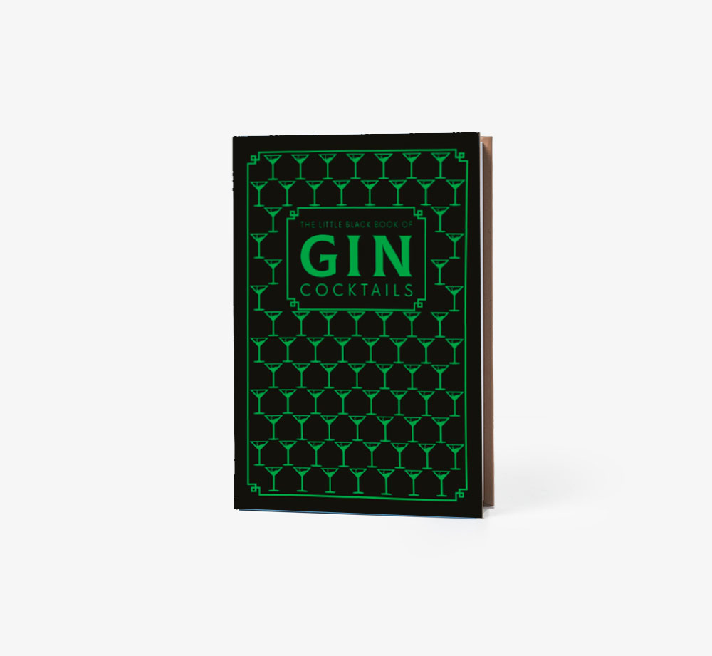 The Little Black Book of Gin Cocktails by PyramidBooks| Bookblock