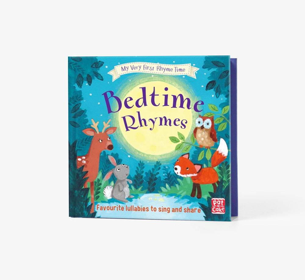 My Very First Rhyme Time: Bedtime Rhymes by Pat-a-CakeBooks| Bookblock