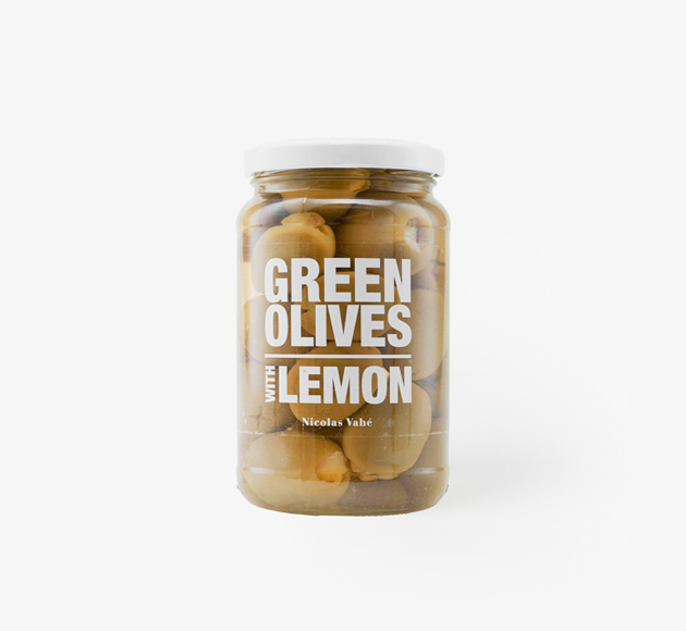 Green Olives with Lemon by Nicolas VaheEat & Drink| Bookblock