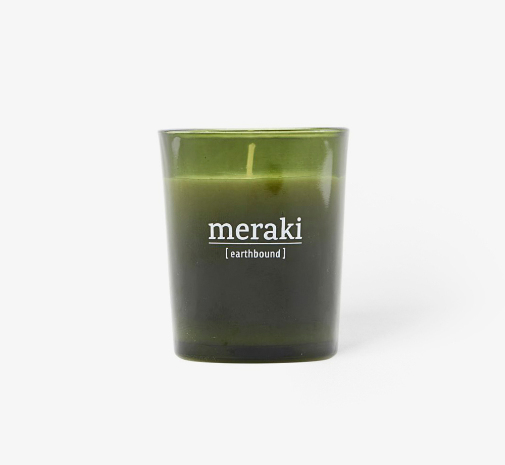 Earthbound Scented Candle by MerakiHome| Bookblock