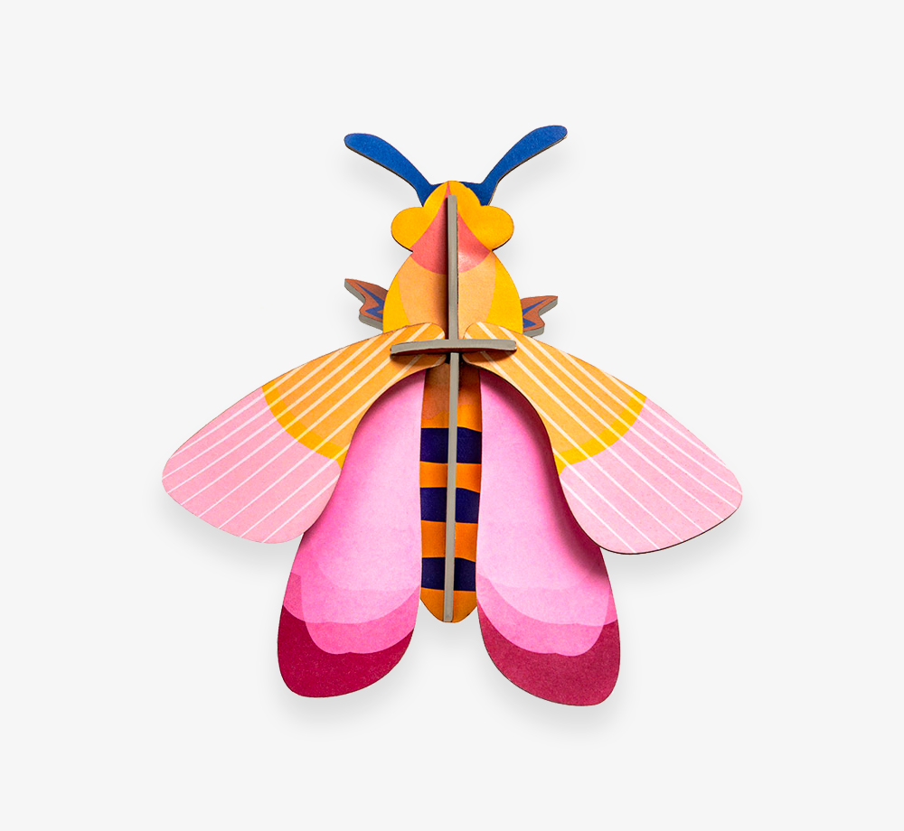 Pink Bee Decoration by Studio ROOFCorporate Gifts| Bookblock