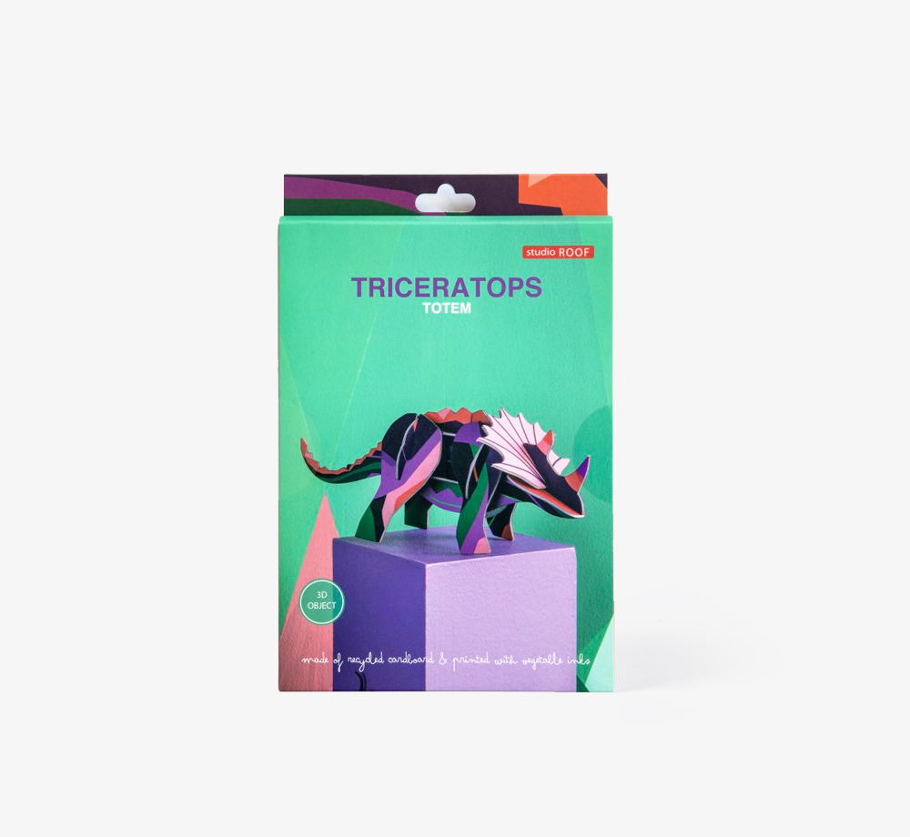 Triceratops Decoration by Studio ROOFCorporate Gifts| Bookblock
