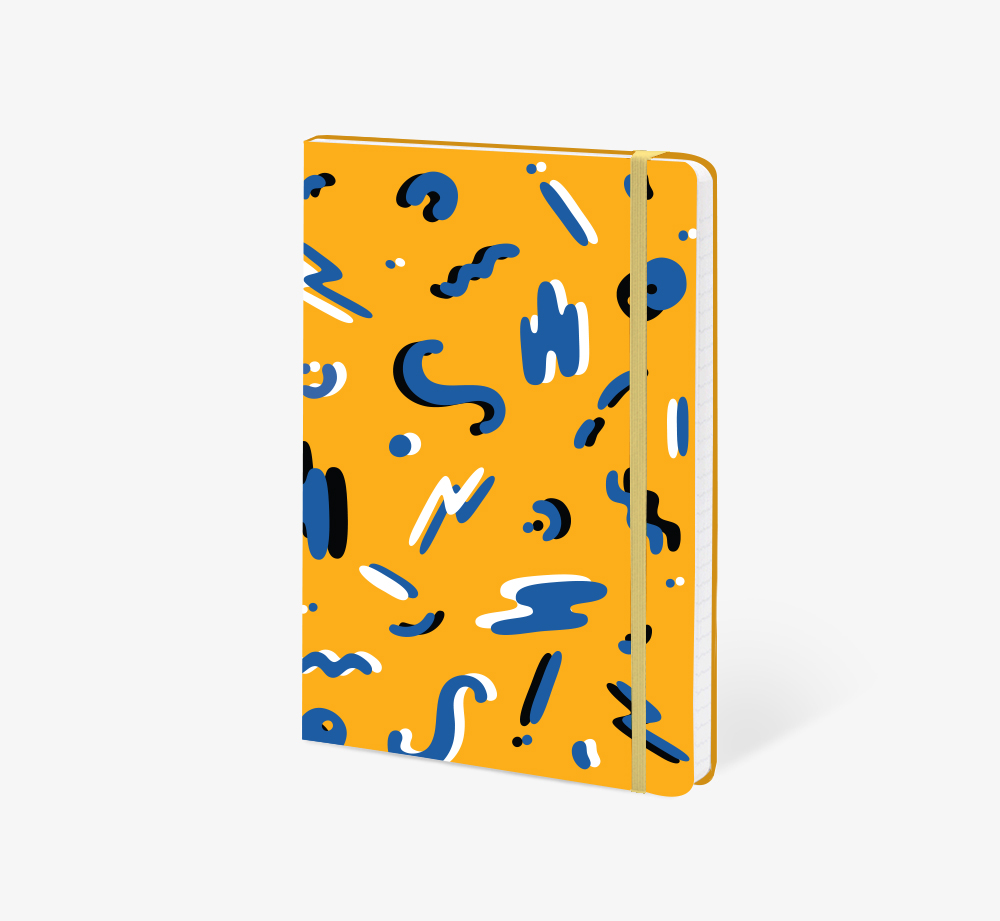 Squiggles A5 Notebook by The EditionsStationery| Bookblock