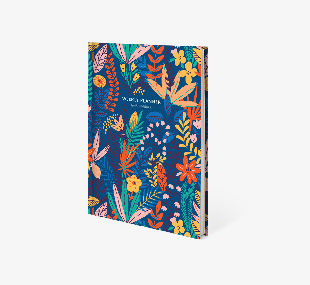 Floral A5 Weekly Planner by BookblockStationery| Bookblock
