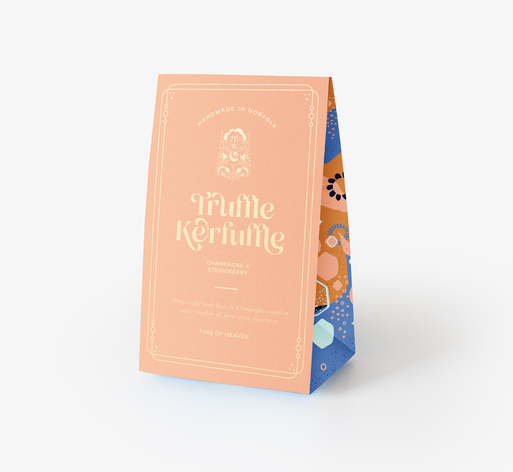 Champagne & Strawberry Truffles by Truffle KerfuffleEat & Drink| Bookblock