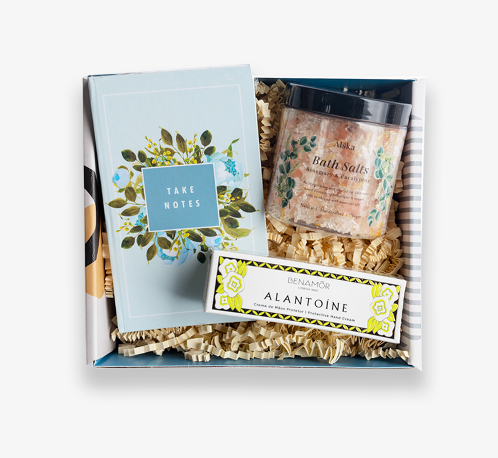 Floral Notes Gift Box by BookblockGift Box| Bookblock