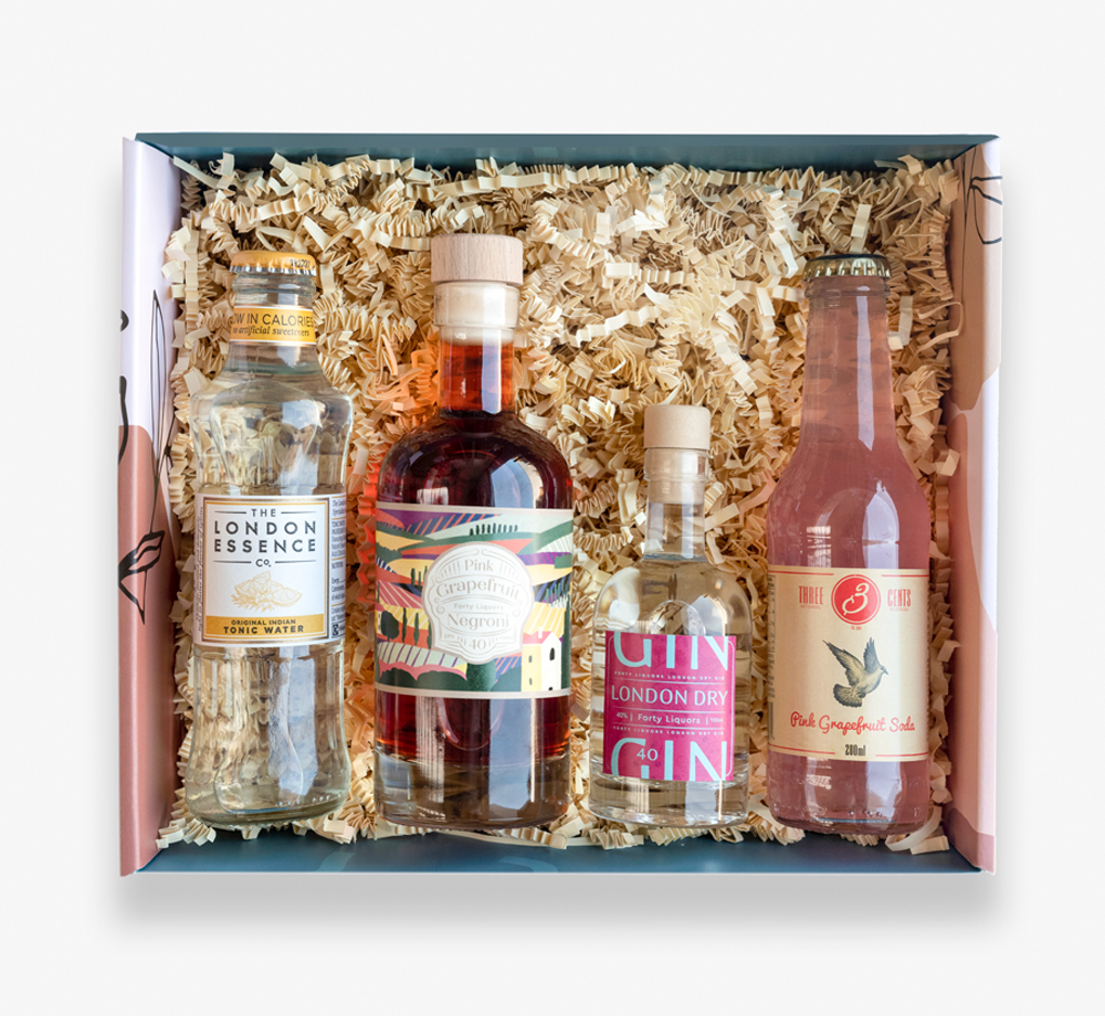 Gin Cocktail Gift Box by BookblockGift Box| Bookblock