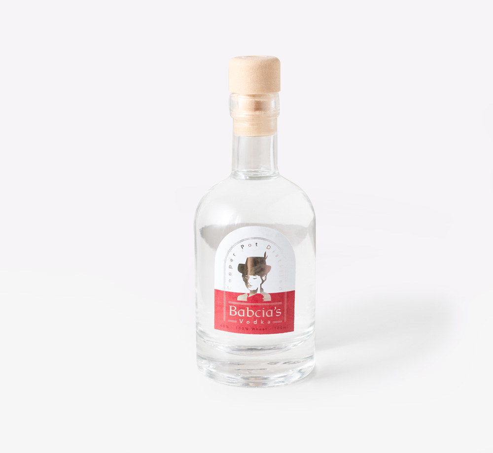 Babcia's Vodka 100ml by Forty LiquorsEat & Drink| Bookblock