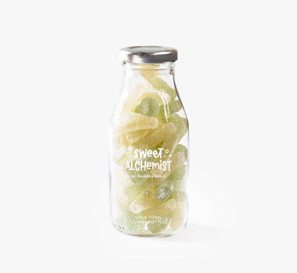 Gin and Tonic Gummy Sweets by The Sweet AlchemistCorporate Gifts  Bookblock