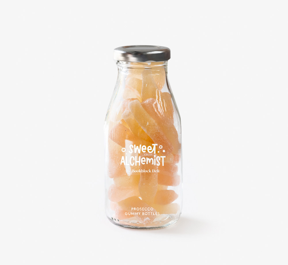 Prosecco Gummy Wedding Favour Sweets by The Sweet AlchemistEat & Drink| Bookblock