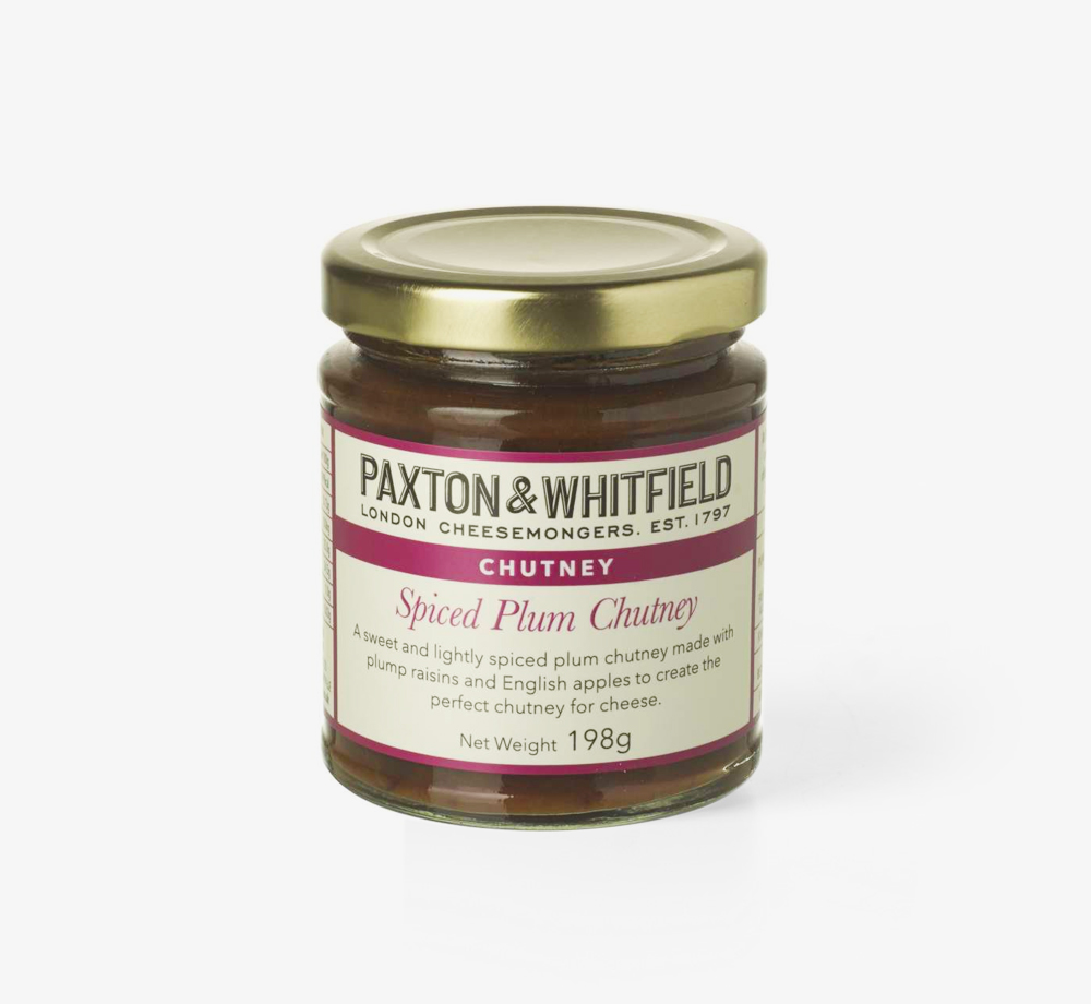 Spiced Plum Chutney by Paxton & WhitfieldCorporate Gifts| Bookblock