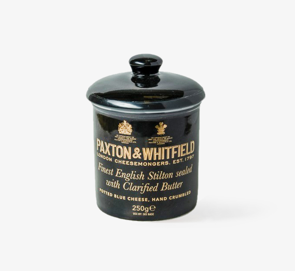 Potted English Stilton 250g by Paxton & WhitfieldCorporate Gifts| Bookblock