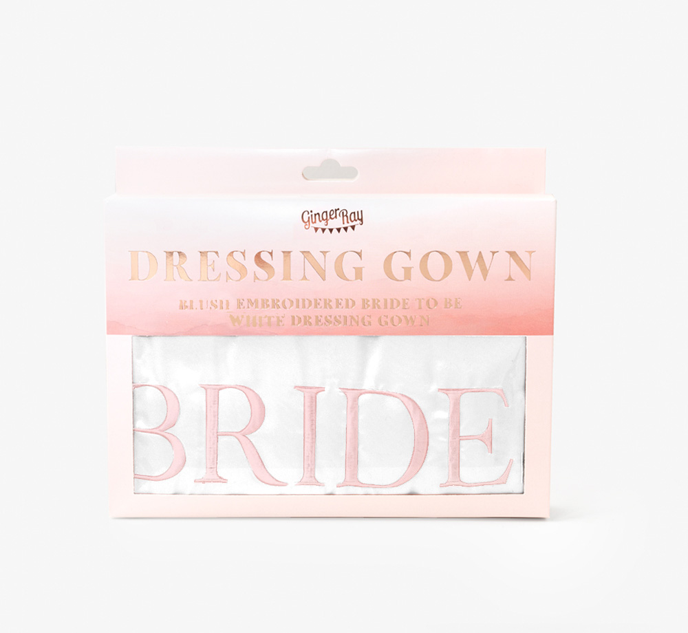 Bride to Be Dressing Gown by Ginger RayWedding  Bookblock