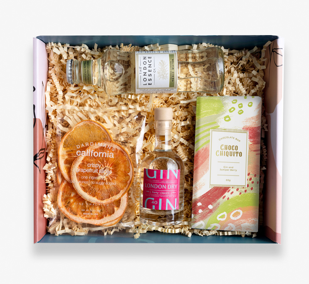 Gintastic Gift Box by BookblockGift Box| Bookblock