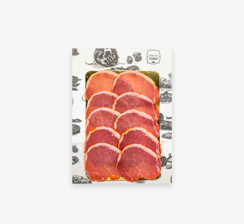 Sliced Meats – Lomo 60g by Cobble Lane CuredCorporate Gifts  Bookblock