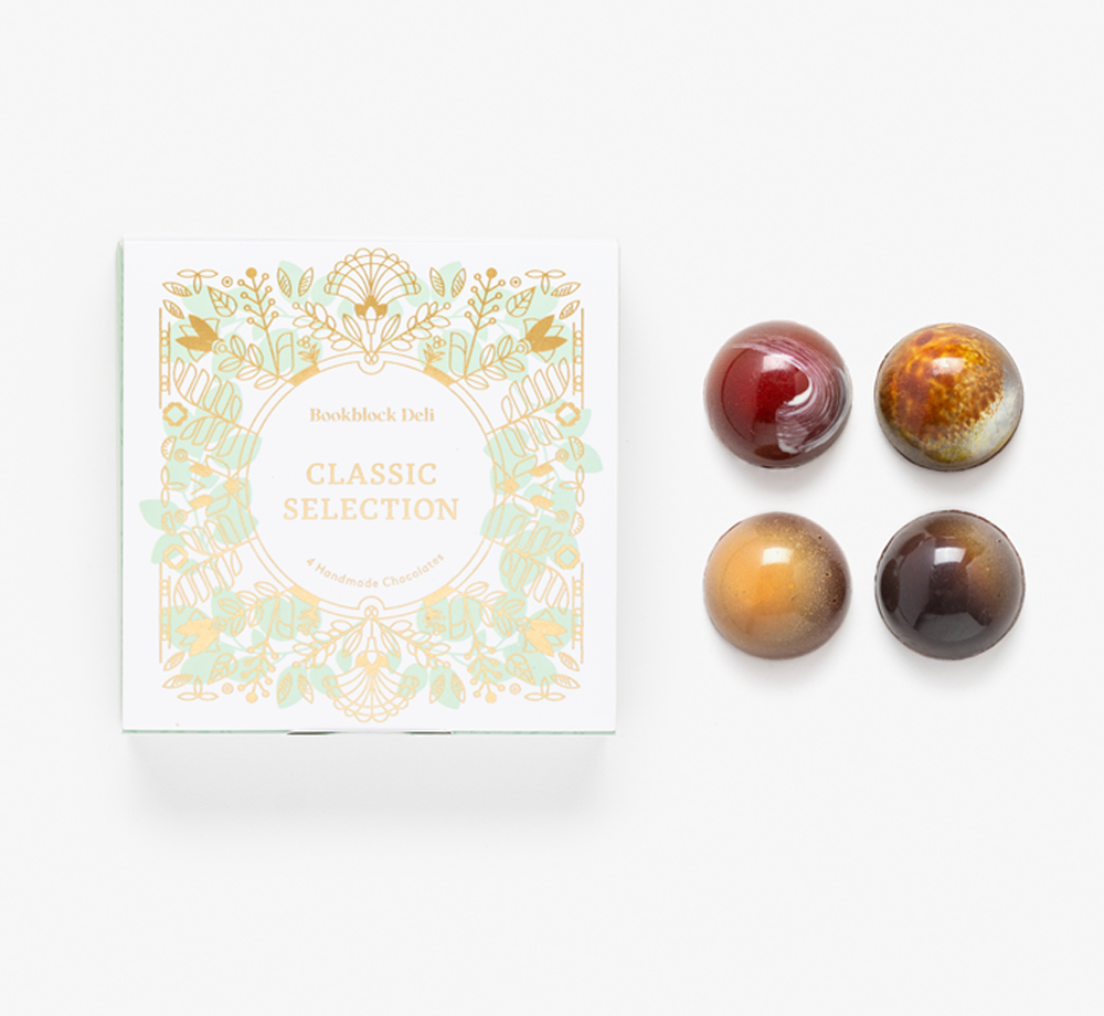 Classic Selection of Handmade Chocolates by Bookblock DeliEat & Drink| Bookblock