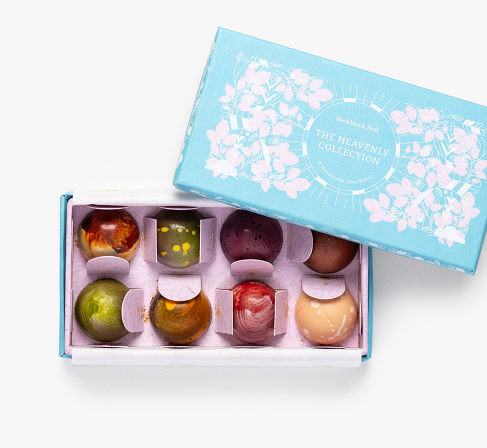 Heavenly Collection of Handmade Chocolates by Bookblock DeliCorporate Gifts| Bookblock
