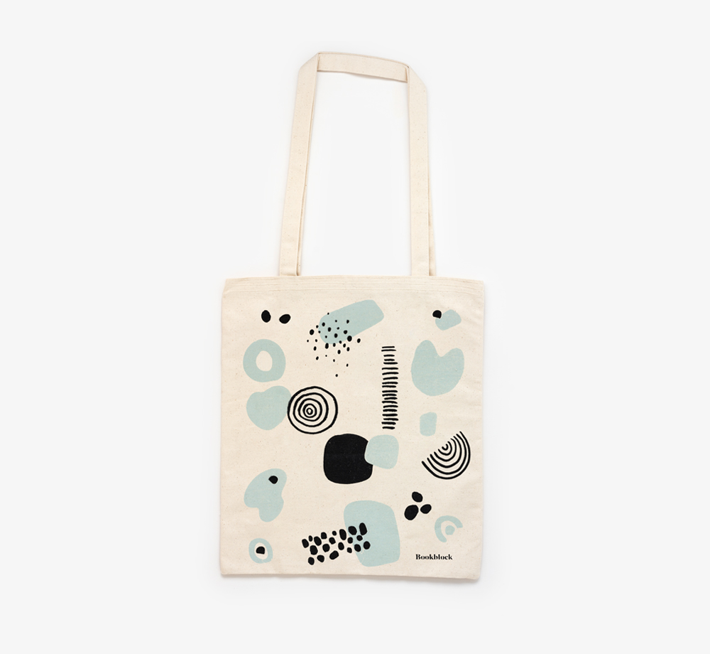 Abstract Print Tote Bag by BookblockCorporate Gifts| Bookblock