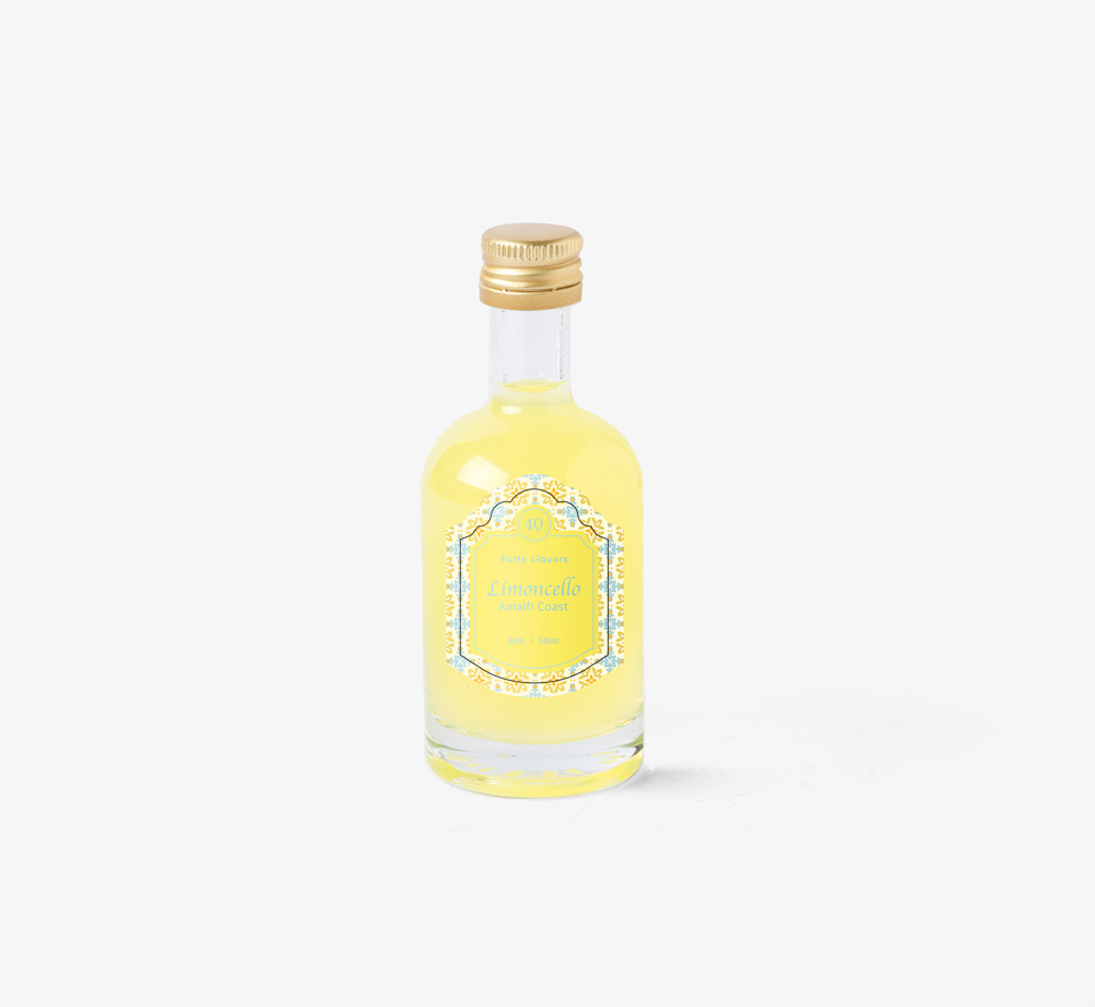 Limoncello 50ml by Forty LiquorsCorporate Gifts| Bookblock