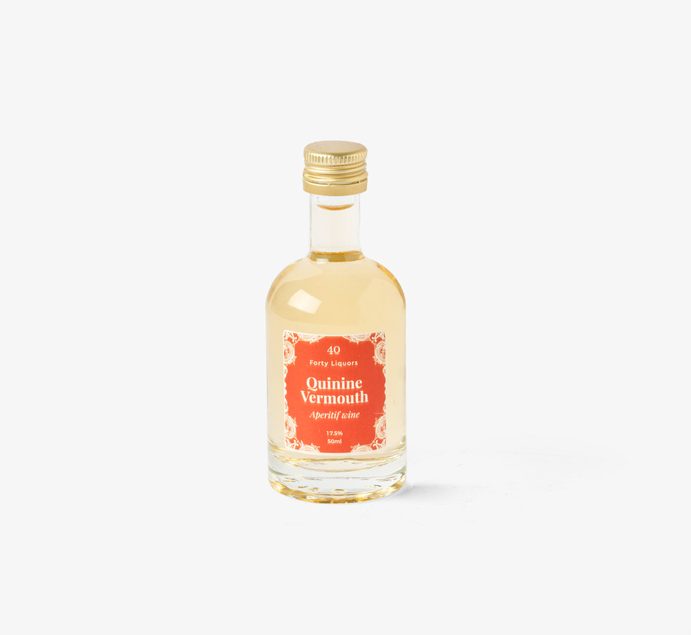 Quinine Vermouth 50ml by Forty LiquorsCorporate Gifts  Bookblock