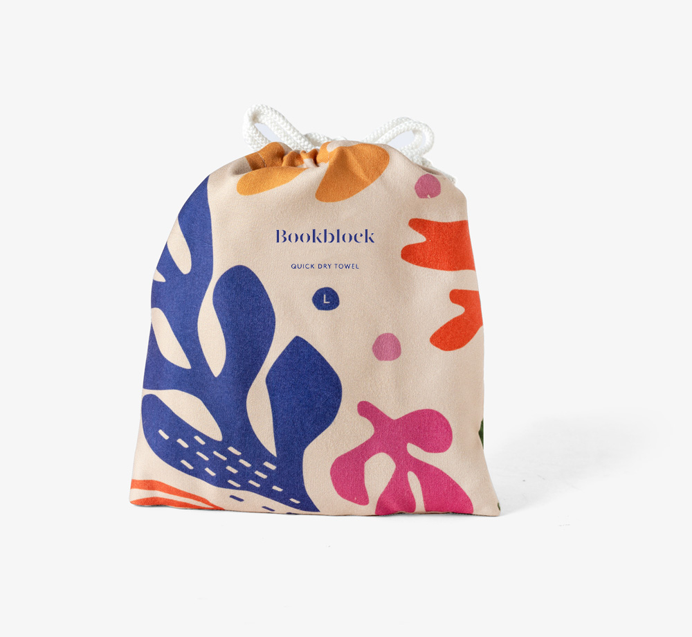 Abstract Print Quick Dry Training Towel by BookblockCorporate Gifts  Bookblock