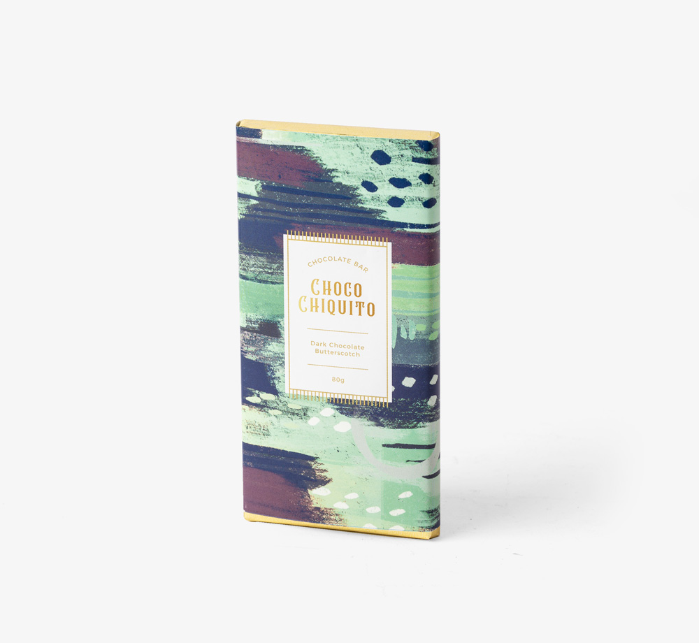 Dark Chocolate with Butterscotch by Choco ChiquitoEat & Drink| Bookblock