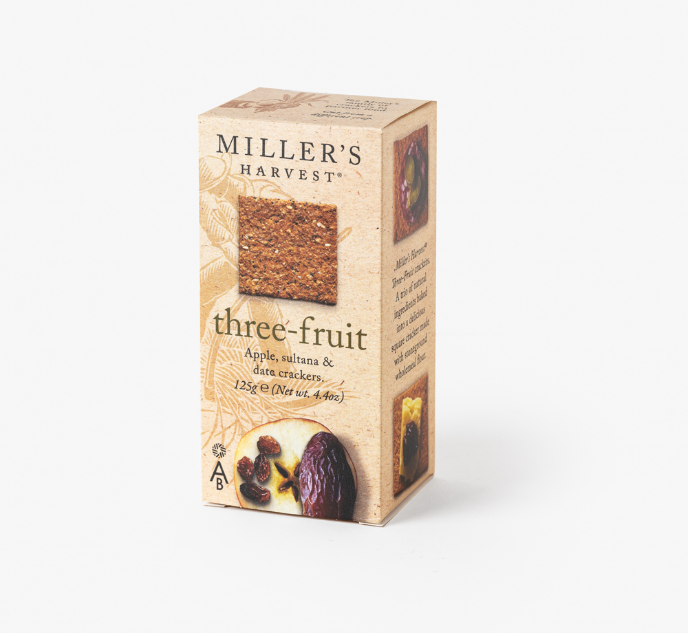 Three Fruit Crackers by Miller'sCorporate Gifts| Bookblock
