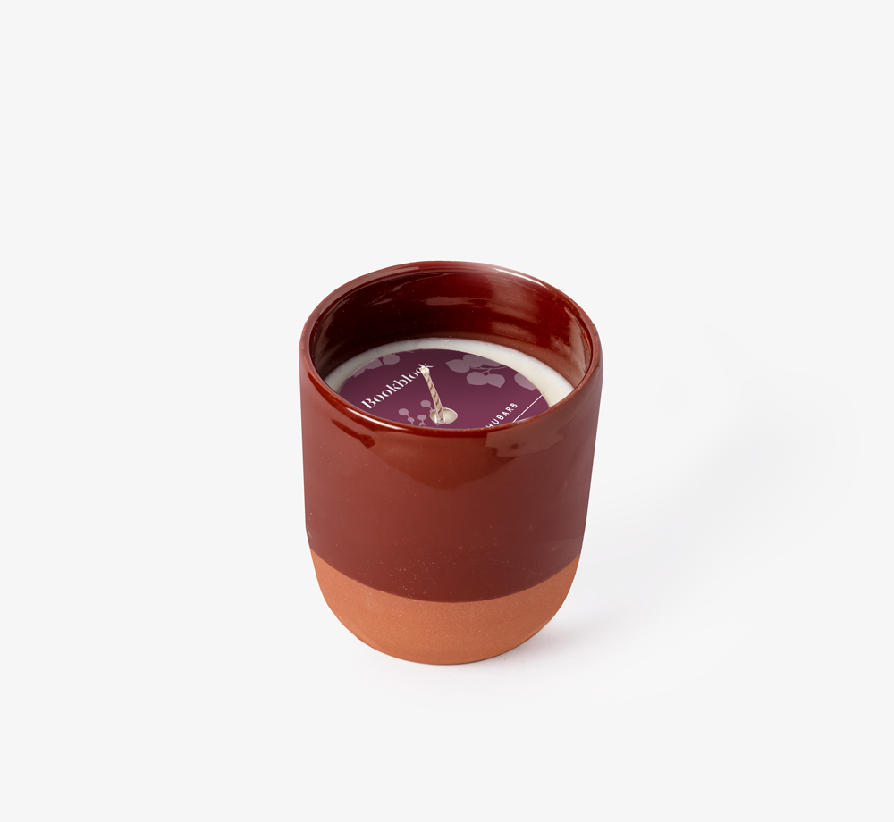 Plum and Rhubarb Candle by BookblockHome| Bookblock