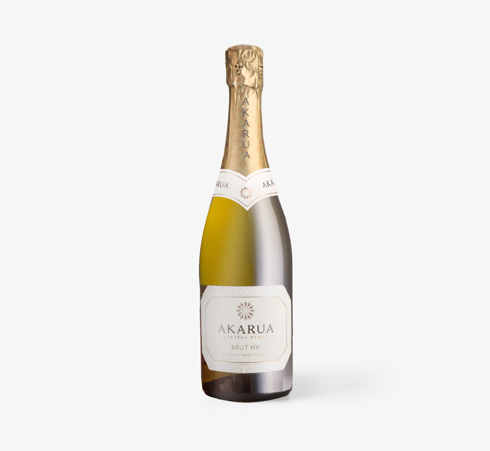 Central Otago Brut Sparkling White Wine 75cl by AkaruaCorporate Gifts| Bookblock