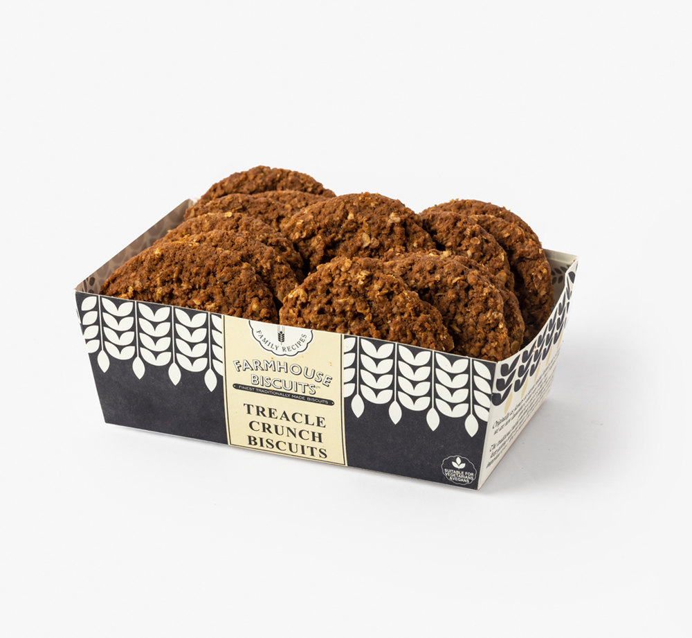 Treacle Crunch Biscuits by Farmhouse BiscuitsCorporate Gifts| Bookblock