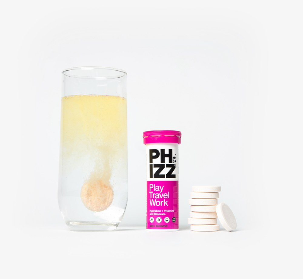Apple & Blackcurrant Multivitamin Hydration Tablets by PhizzEat & Drink| Bookblock