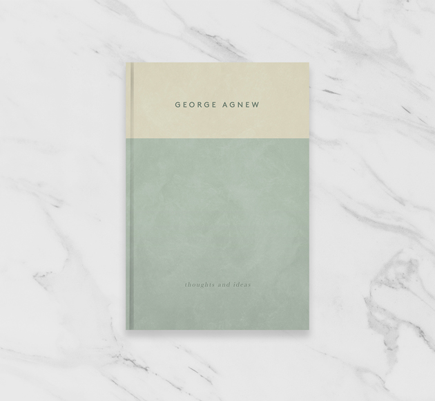 Sage and Cream Personalised Notebook Journal