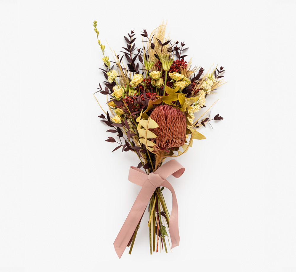 Banksia Large Dried Bouquet by Bookblock FloristsHome| Bookblock