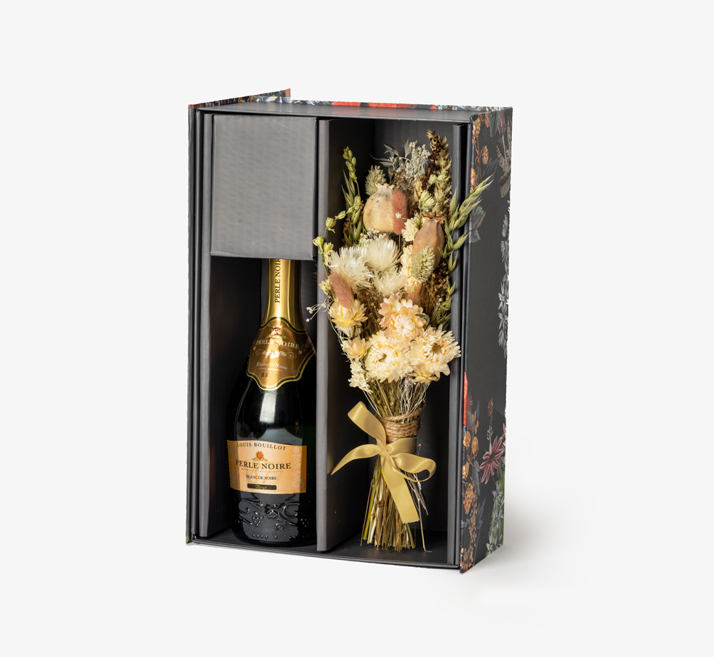 Brut & Poppy by Flowers & BubblesGift Box| Bookblock