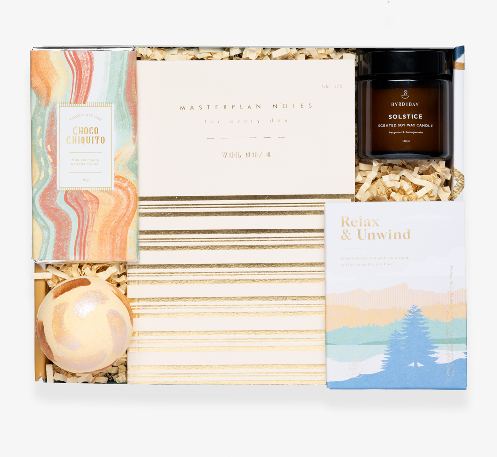 Winter Solstice Gift Box by BookblockGift Box| Bookblock