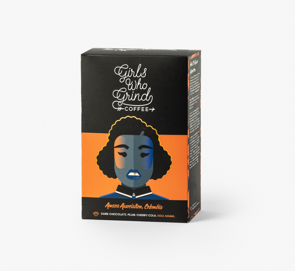 Colombia Amaca 2021 Espresso Coffee by Girls Who GrindEat & Drink  Bookblock