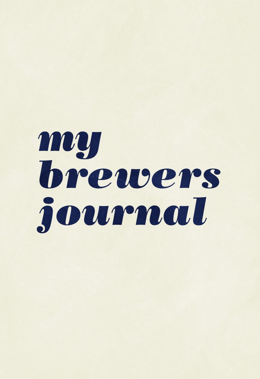 My Brewers Journal
