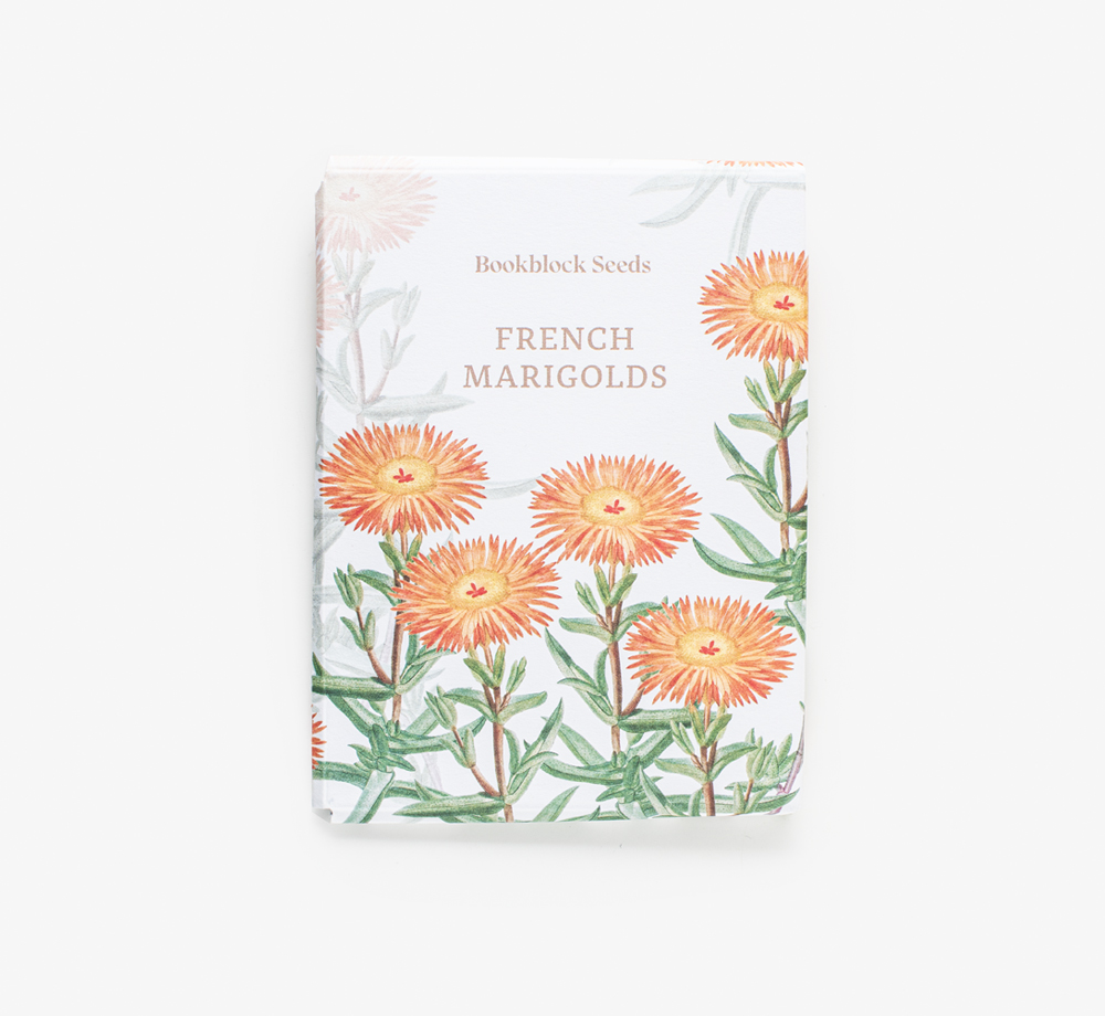 French Marigold Seeds by Bookblock SeedsLifestyle & Games| Bookblock