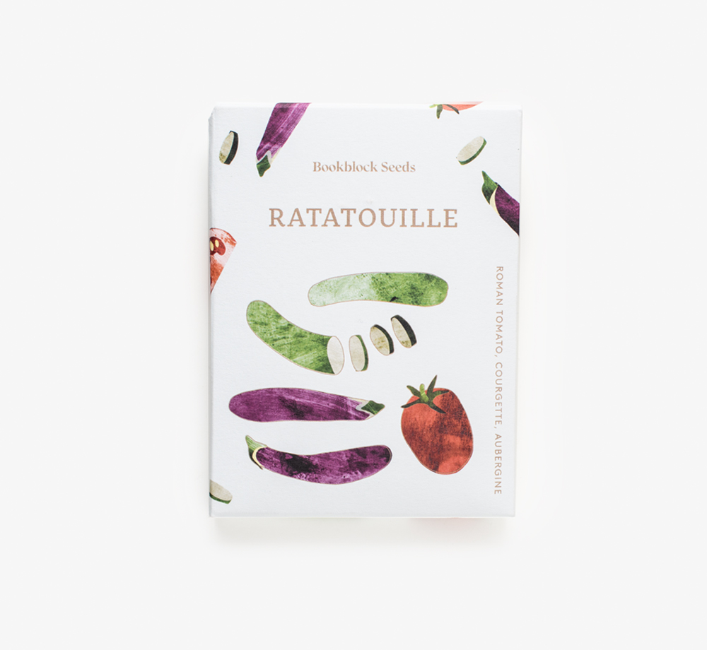Ratatouille Seeds by Bookblock SeedsLifestyle & Games| Bookblock