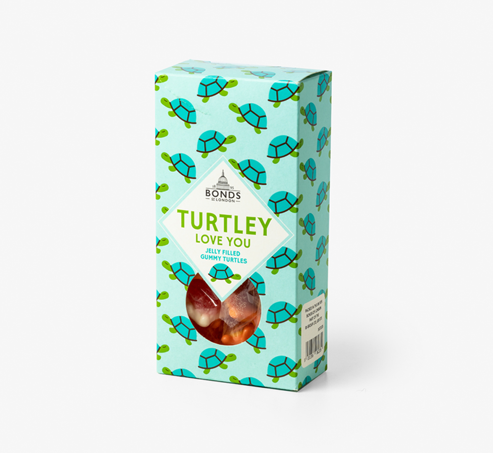 'Turtley Love You' Gummy Turtles by Bonds of LondonEat & Drink| Bookblock