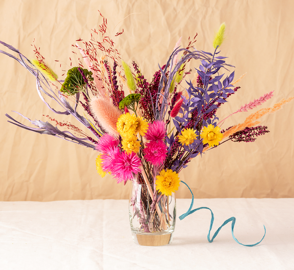Electric Large Dried Bouquet by Bookblock FloristsCorporate Gifts| Bookblock