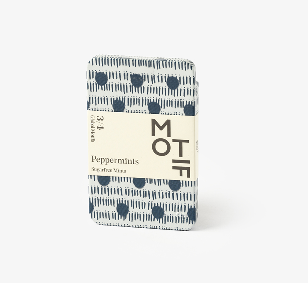 Global Motif Dots Peppermint Tin by MotifCorporate Gifts| Bookblock