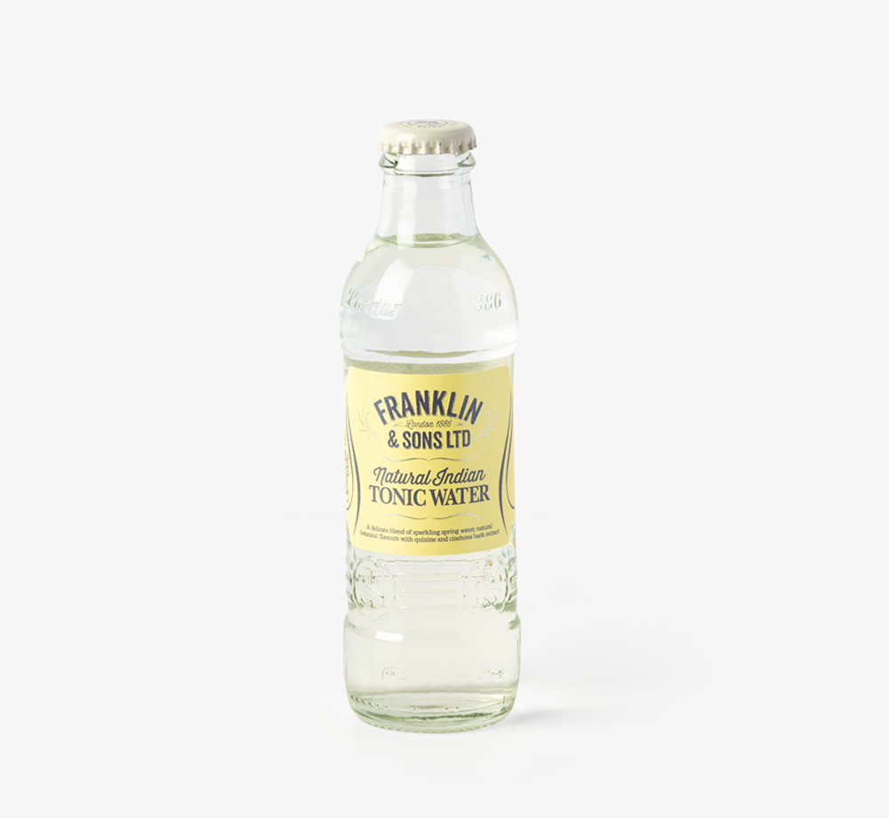Natural Indian Tonic Water by Franklin & SonsCorporate Gifts  Bookblock